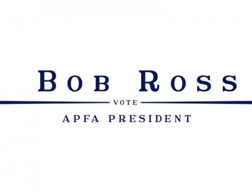 Bob Ross for APFA President